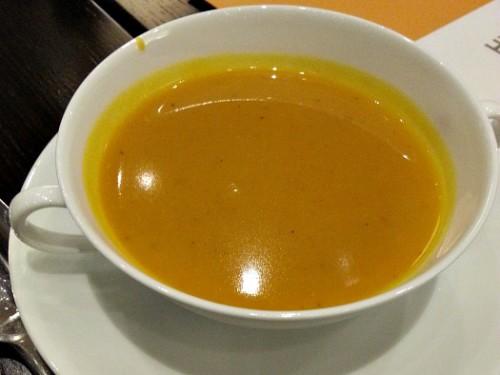 Hyatt City of Dreams Buffet Review Pumpkin Soup