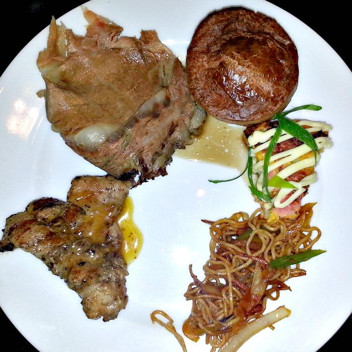 Hyatt City of Dreams Buffet Review Roast Meats