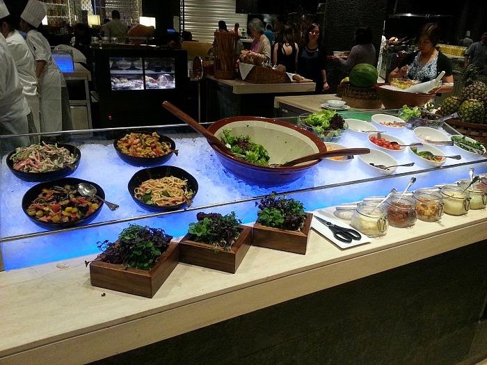 Hyatt City of Dreams Buffet Review Salads