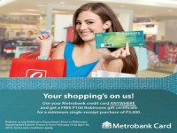 Get P100 Robinsons GC for Every P3,000 Spend on Metrobank Card