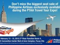 Philippine Airlines Biggest Seat Sale Travel Tour Expo