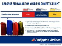 Philippine Airlines New Baggage Allowance for Domestic Flights