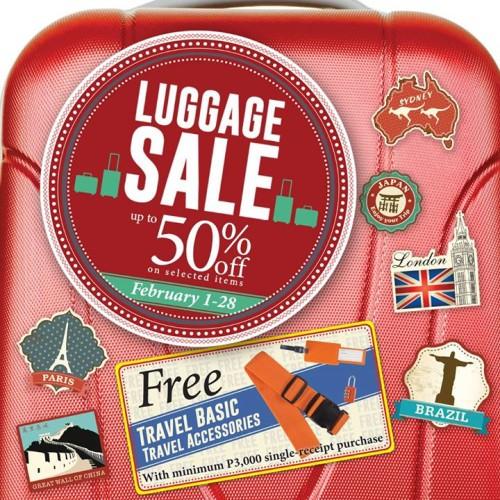 SM Luggage Sale February 2015