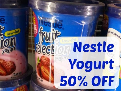 SnR Feb 3 2015 Nestle Yogurt 50% OFF