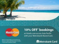 10% OFF Hotels Metrobank Promo Featured Image