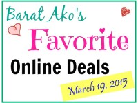 Barat Ako Favorite Online Deals March 19 2015