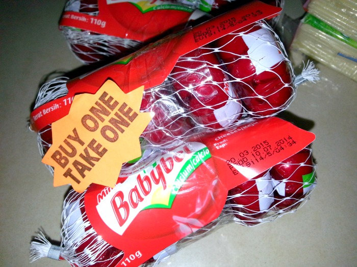 Buy 1 Take 1 Cheese and Butter Robinsons Otis Haul Babybel
