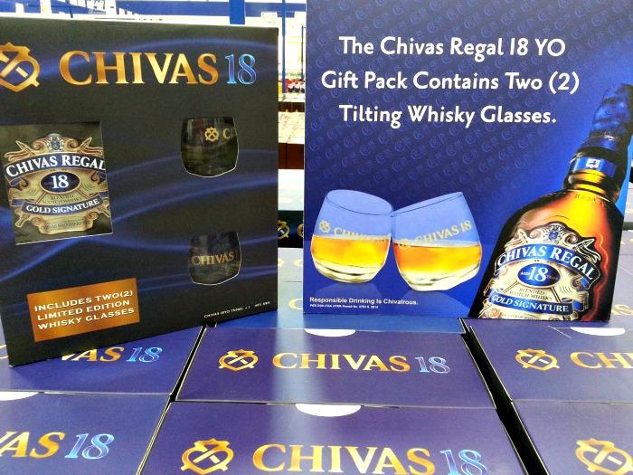 Chivas Regal 18YO Free Glasses Promo