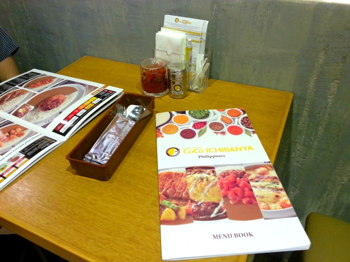 Curry House Coco Ichibanya Review Estancia Mall Table
