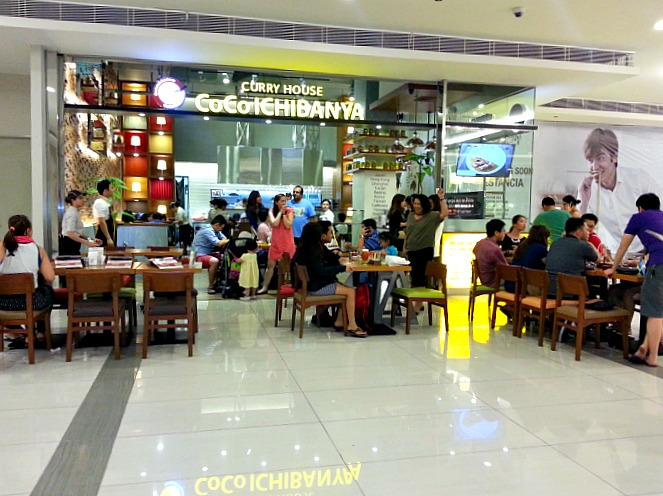 Curry House Coco Ichibanya Review Estancia Mall