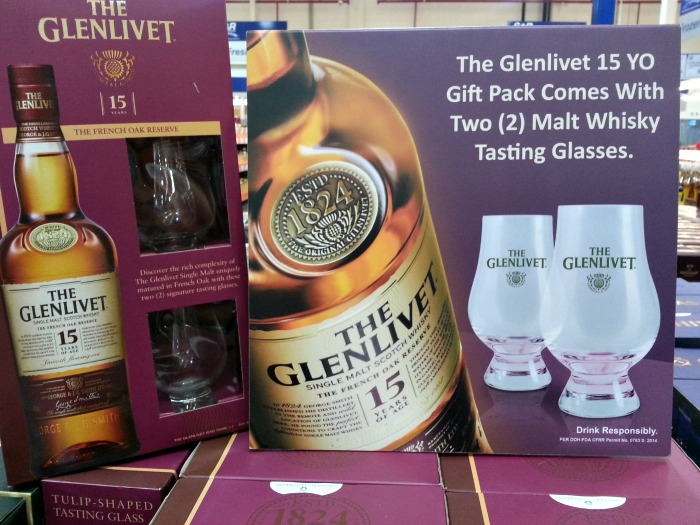 Glenlivet Free 2 Whiskey Glasses