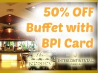 Intercon BPI Card 50% OFF Cafe Jeepney Buffet