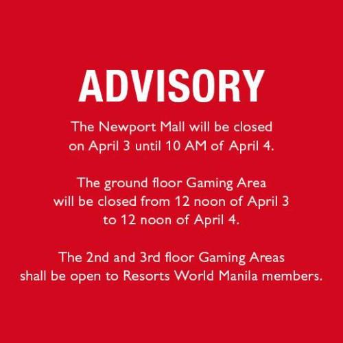 Newport Mall Holy Week Schedule