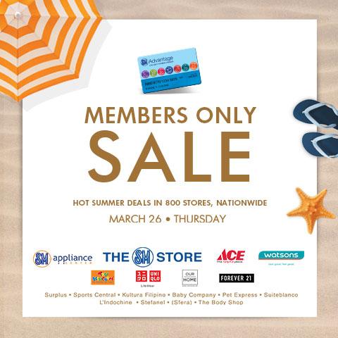 SM Advantage March 26 Summer Deals Stores