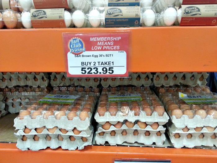 SnR Brown Eggs Buy 2 Take 1