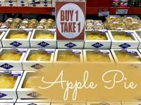 S & R Buy 1 Take 1 Apple Pie