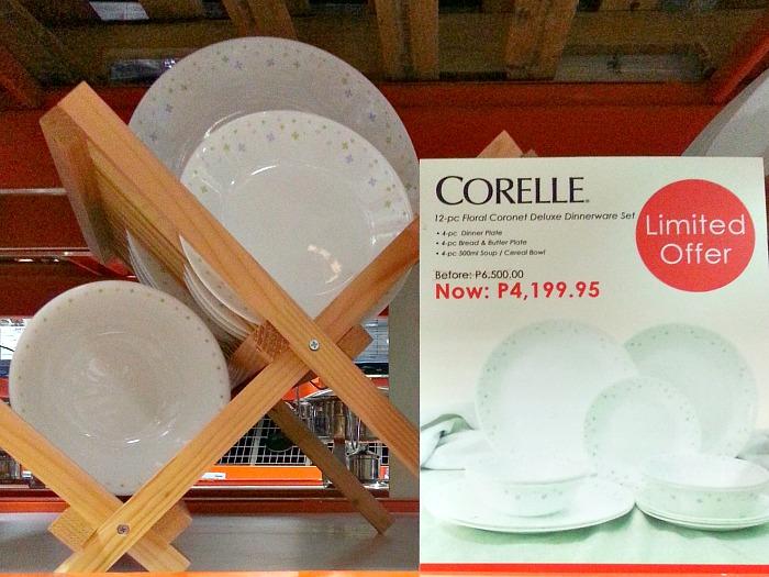 SnR Corelle Plates Set Sale Close Up