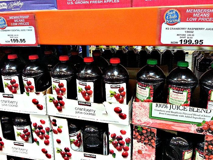 SnR Cranberry Juice Sale