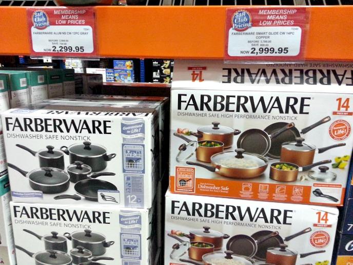 SnR Farberware Cookware Set Sale