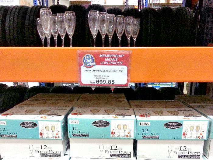 SnR Libbey Champagne Flute Set