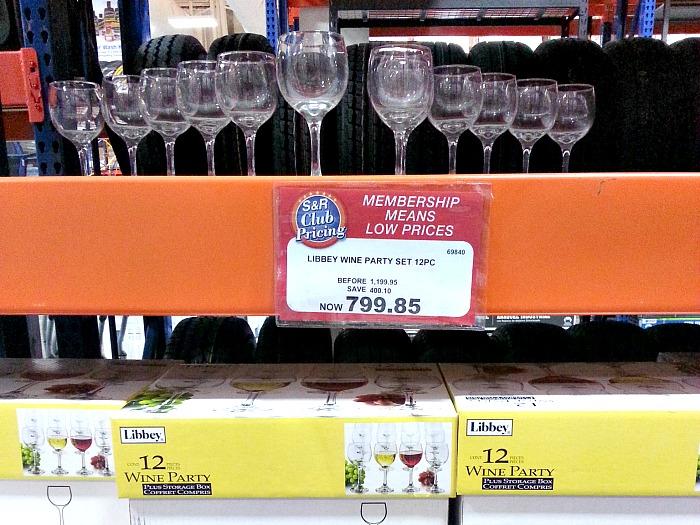 SnR Libby Wine Glasses Party Set
