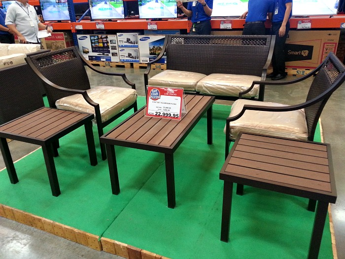 SnR Outdoor Furniture Chat Set Aluminum