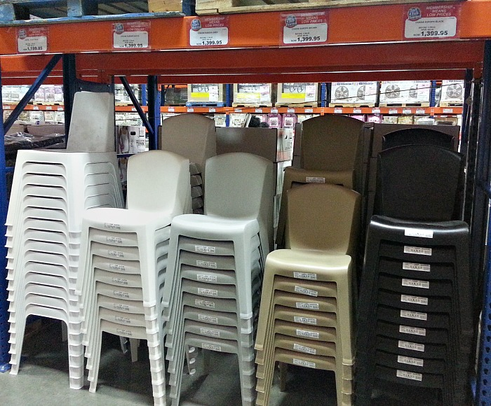 SnR Outdoor Furniture Plastic Chairs