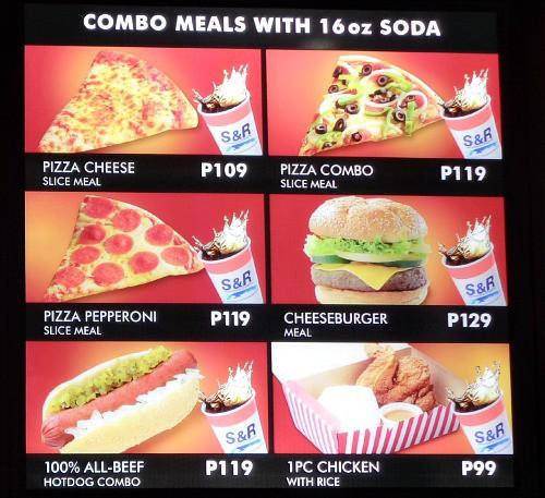 SnR Tagaytay Ayala Mall Serin Combo Meal