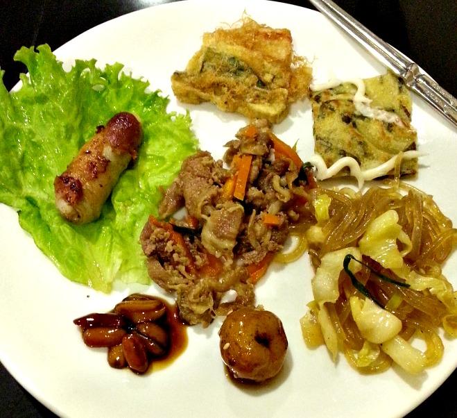Sodam Korean BBQ Buffet Plate