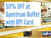 Spectrum Buffet BPI 50% OFF Promo