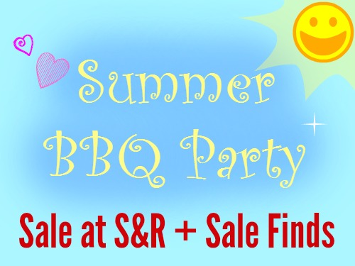 Summer BBQ Party SnR Sale Items