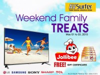 AV Surfer Weekend Family Treats Featured Image