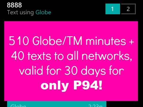 Gosakto Tips Tricks 510 minutes Globe Calls 30 days Featured Image