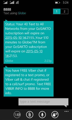 Gosakto Tips Tricks 510 minutes Globe Calls 30 days