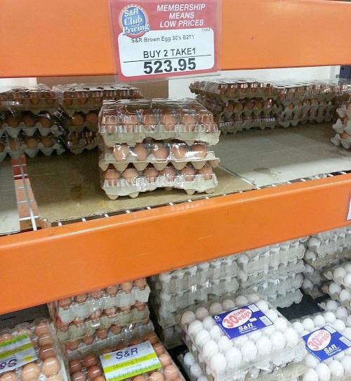 SnR Buy 2 Take 1 Brown Eggs