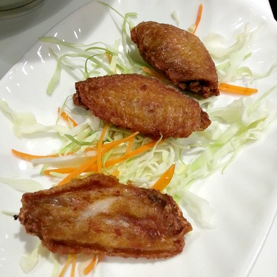 Tuan Tuan Chinese Brasserie Ginger Chicken Wings