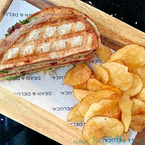 Dean and Deluca Reuben Sandwich with Chips
