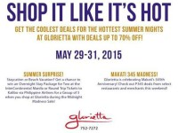 Glorietta Midnight Madness Sale May 29 31 2015 Featured Image