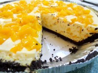 Lazy Recipe Easy No Bake Mango Cheesecake