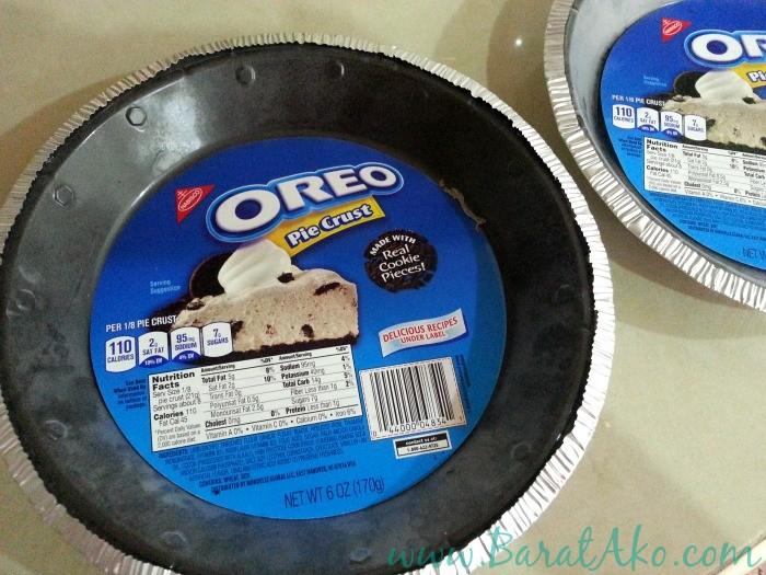 Lazy Recipe Easy No Bake Mango Cheesecake Oreo Pie Crust