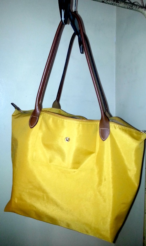 How to Clean Your Longchamp Le Pliage Tote Bag - Karen MNL ed92a0299c9ed
