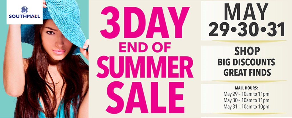 SM Southmall End of Summer Sale