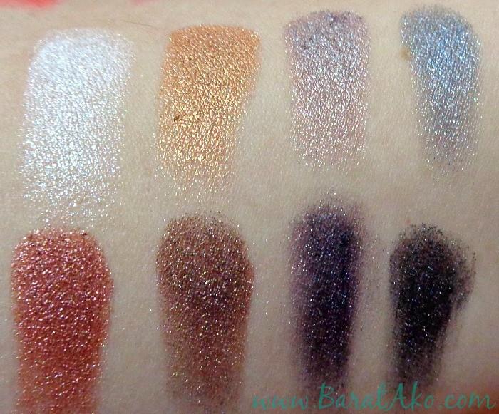 Shawill Eyeshadow with Blusher Swatches 004 Metallic