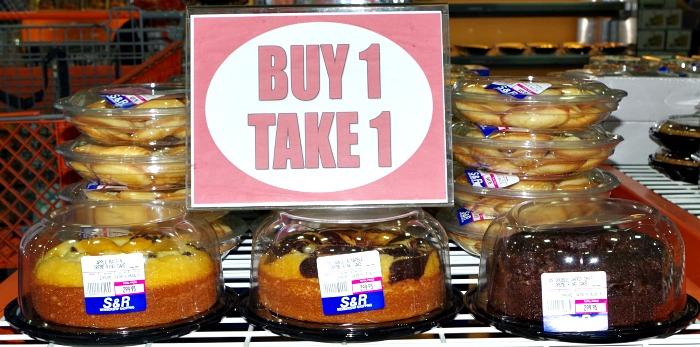 SnR Buy 1 Take 1 Ring Cakes