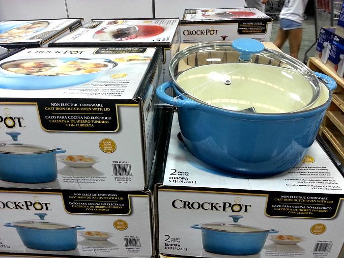 SnR May 12 Crock Pot Cast Iron Dutch Oven 5Qt
