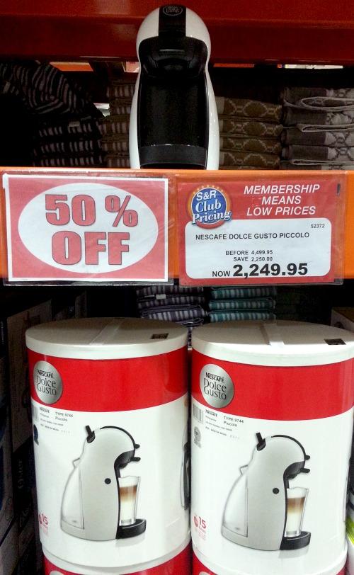 SnR May 12 Nescafe Dolce Gusto Piccolo Coffee Maker