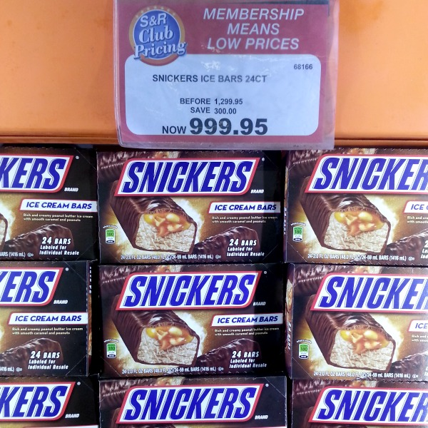 SnR May 12 Snickers Ice Cream Bars
