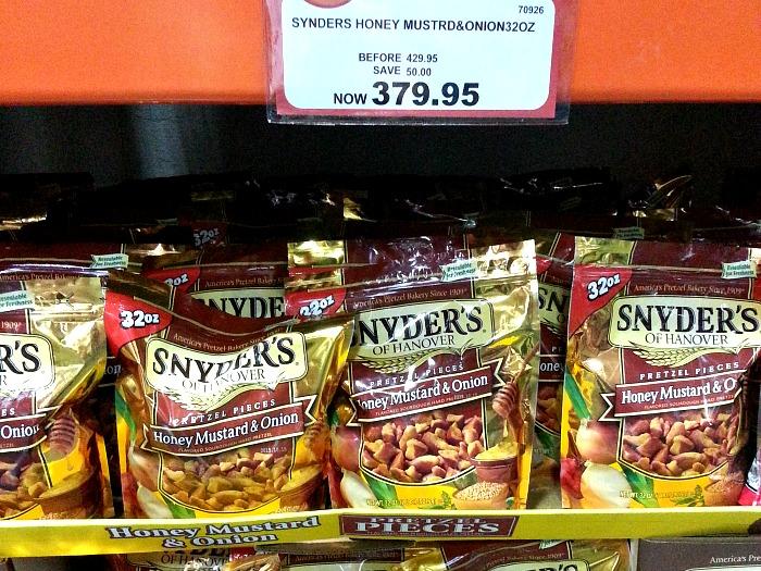 SnR May 12 Snyders Hanover Honey Mustard