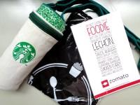 Starbucks Tumbler Zomato Giveaway