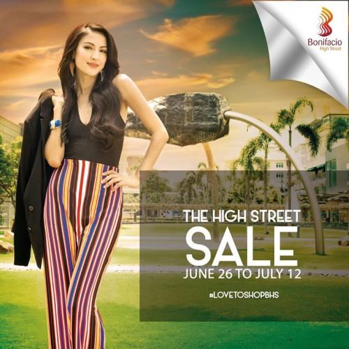 Bonifacio High Street Sale June 26 - July 12